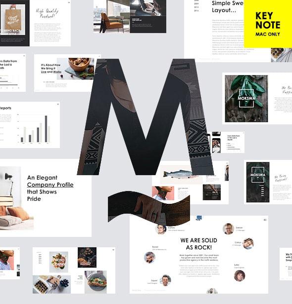 MOKSWA - Modern Keynote Template