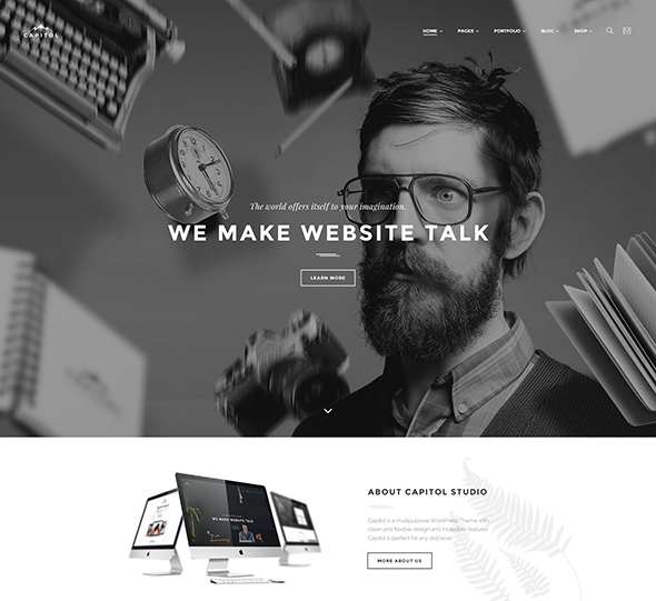 Capitol - Creative Multi-Purpose PSD Template