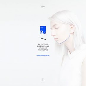 25 Stunning Minimalist PSD Web Designs