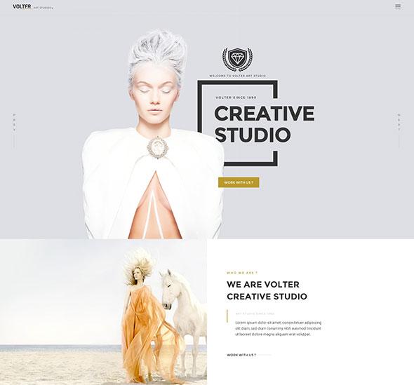 Volter - Creative PSD Template