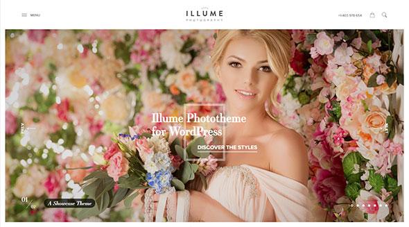 Illume - Romantic Photography WordPress Theme