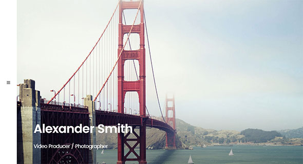 Sobre | Minimal Photography Portfolio WordPress Theme