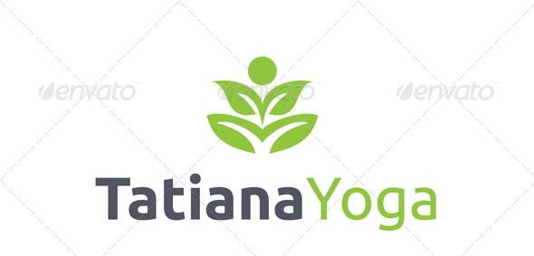 Tatiana Yoga Logo Template