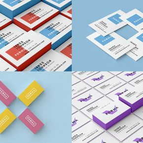 30 Fantastic PSD Business Card Mockup Templates