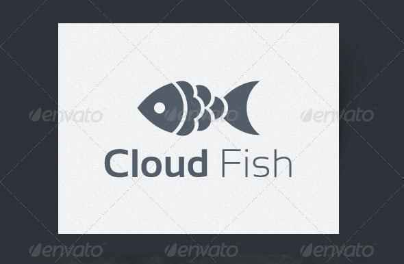 Cloud Fish Logo