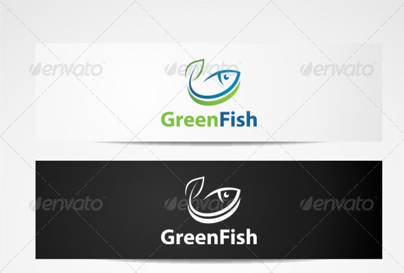 Logo fish Templates