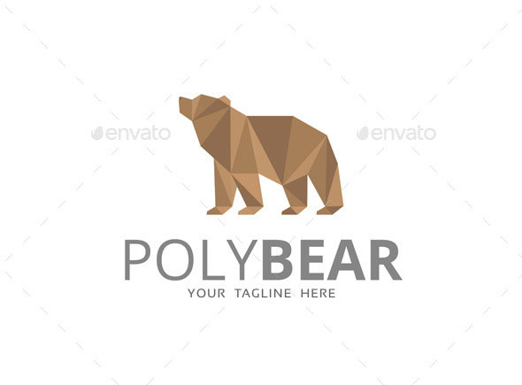 Poly Bear Logo