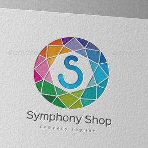 25 Awesome Geometric Logo Template Designs