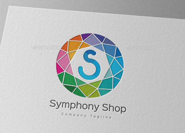 Symphony Shop Letter S Logo