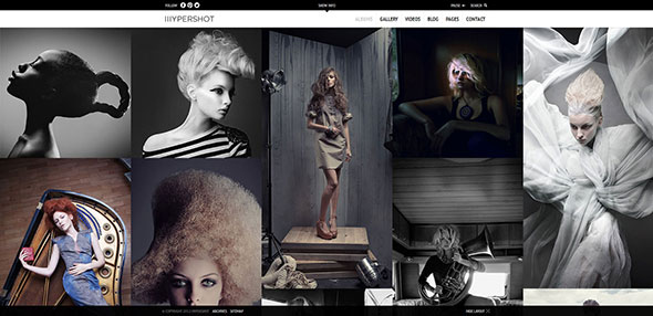 Hypershot - Photography Portfolio WordPress Theme