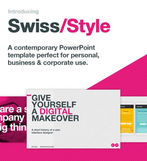 25 Stunning Typography PowerPoint Design Templates