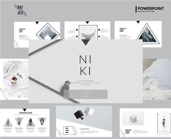 Niki Multipurpose Powerpoint Template