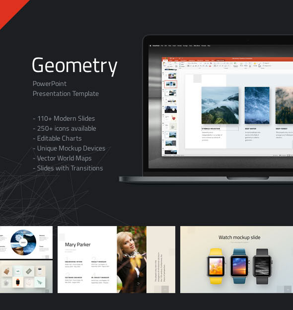 Geometry PowerPoint Presentation Template