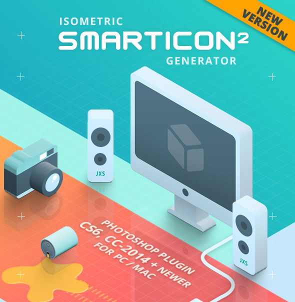 SmartIcon Generator 2 - Isometric 3D Icons