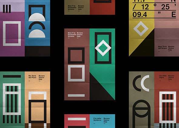BURANO — poster series