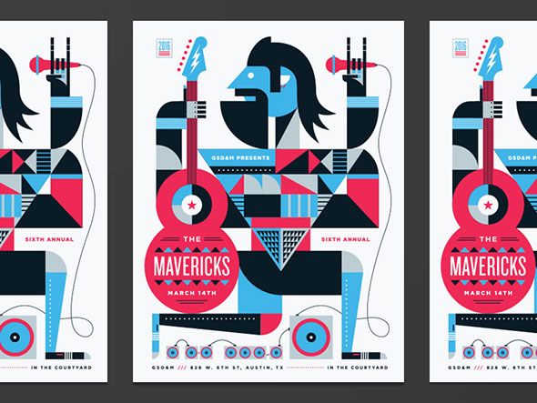 Mavericks Poster