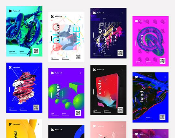 Plastic—69 Poster Series