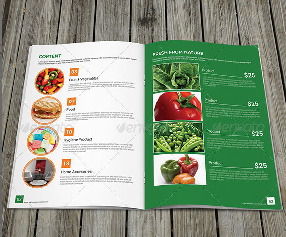 Supermarket / Product Brochure