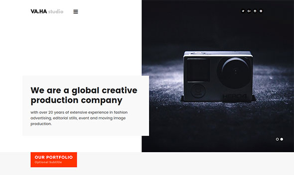 VaHa - Agency / Portfolio / Studio WP theme