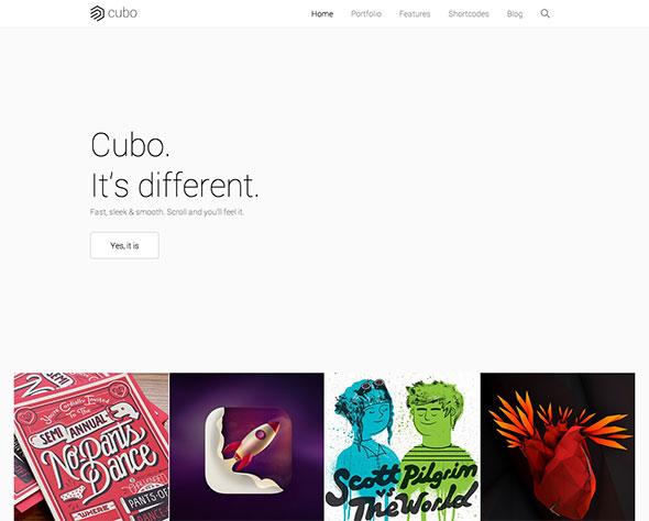 Cubo - Creative Portfolio Theme