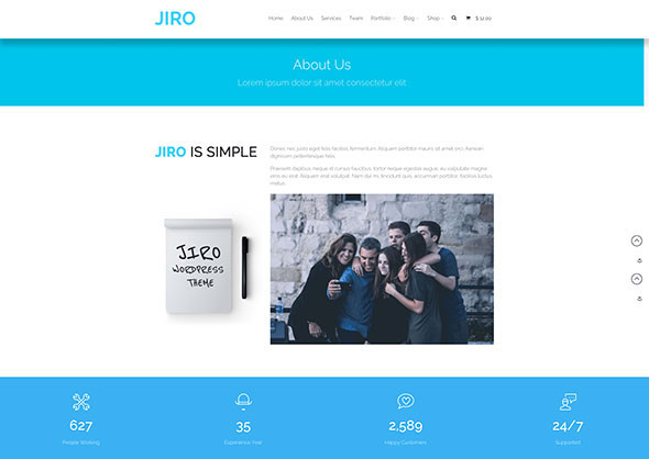 JIRO | Layers Business WordPress Theme