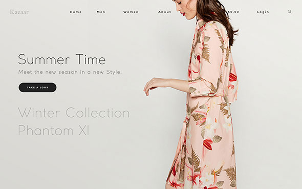 Kazaar - Aesthetic WooCommerce Theme