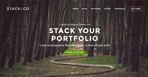 Stack – Responsive WordPress Portfolio & Photography Theme