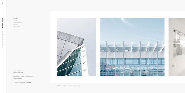 Alvar - Minimal and Modern Portfolio Theme for Photographers