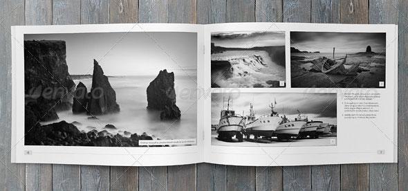Minimalfolio Photography Portfolio A4 Brochure