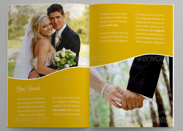 Wedding - Brochure Template