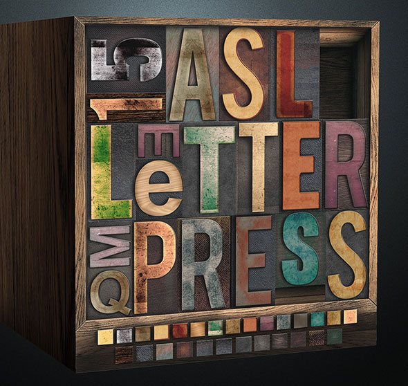 Letterpress - Wood Edition