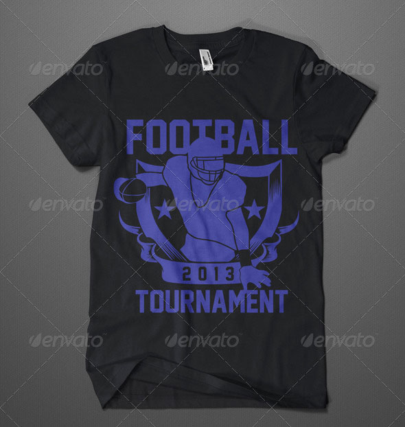 American Footbal Tournament T-Shirt