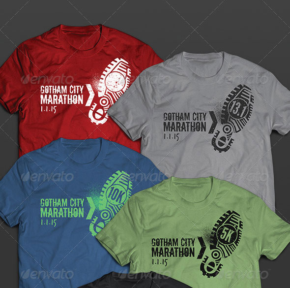 Race & Marathon Running Shirts