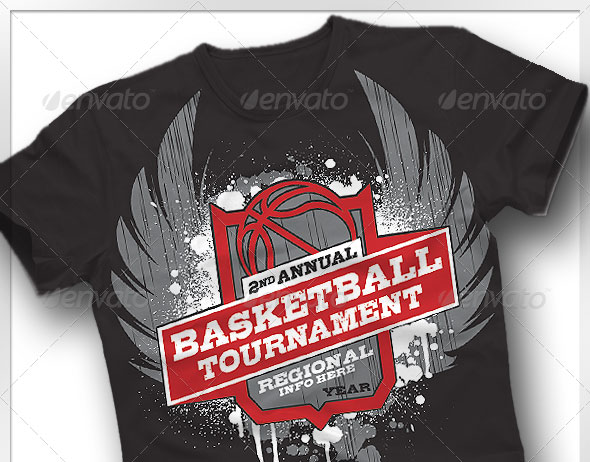 Basketball Tournament T-shirt