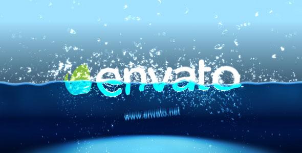 Half Water logo intro