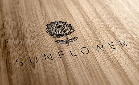 Sunflower Logo Template