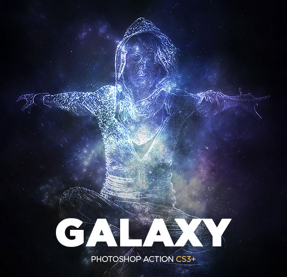 Galaxy Photoshop Action CS3+