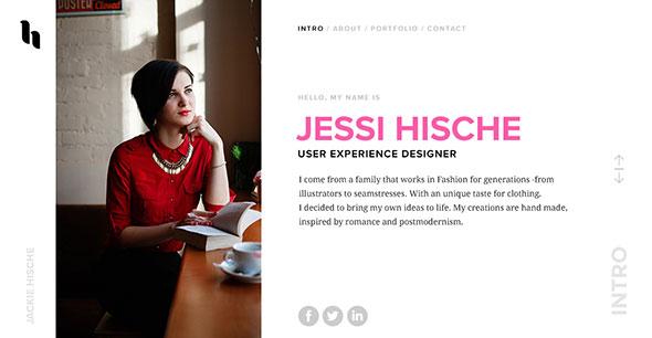 VIZAG - Personal Portfolio Theme for Designers