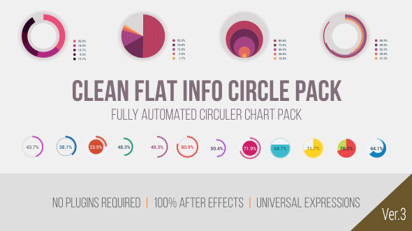 Clean Flat Info Circle Pack