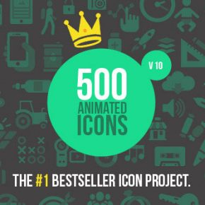 25 Best After Effects Animated Icon Templates