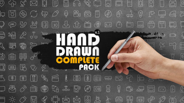 Hand Drawn Complete Pack