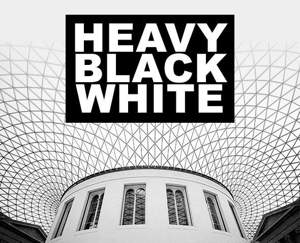 Heavy Black White Photoshop Actions