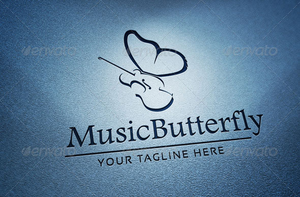 Music butterfly