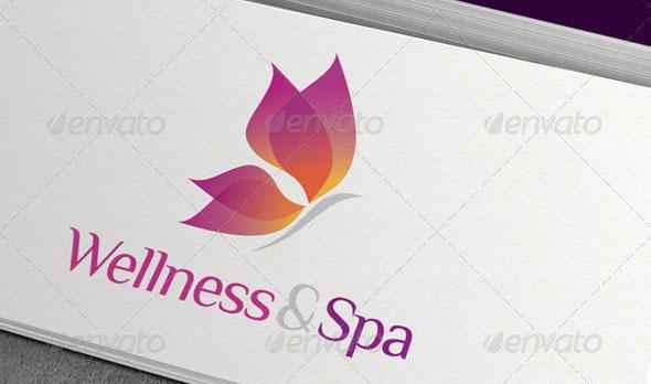 Wellness & Spa Logo