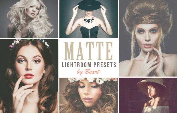 50 Premium Matte Lightroom Presets