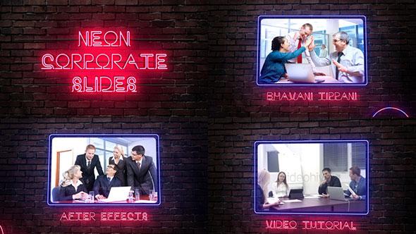 Neon Corporate Slides