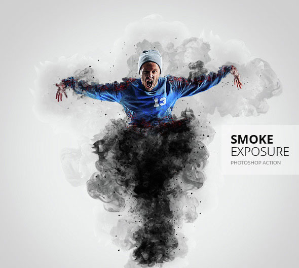 Smoke Exposure Photoshop Action