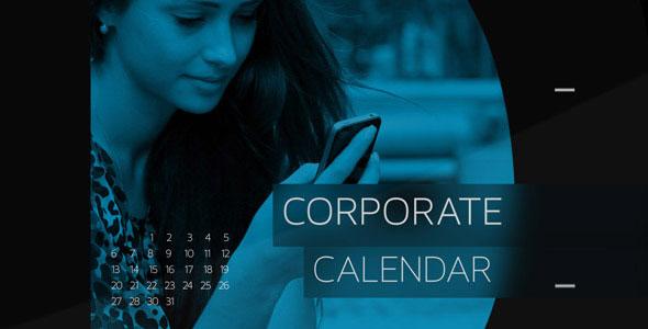Corporate Calendar Timeline