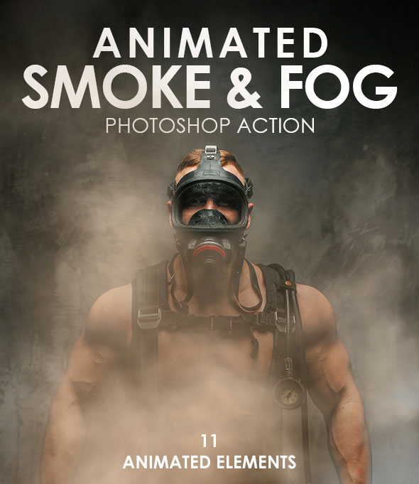 Animated Smoke & Fog Photoshop Action