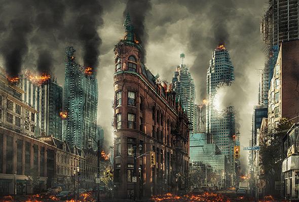 Apocalypse Photoshop Action